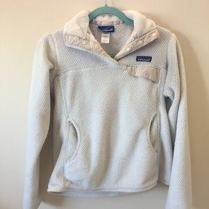 Patagonia 1/4 button fleece jacket